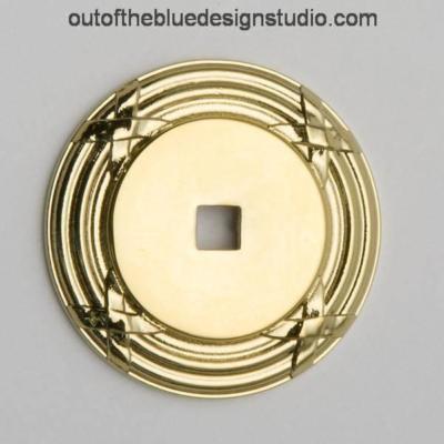 4613-030-BIN - Baldwin Cabinet Knob Backplate