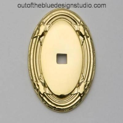 4619-030-BIN - Baldwin Cabinet Knob Backplate